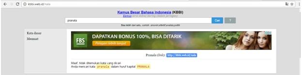 kbbi web